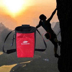 Waist-Magnesium-Bag-Climbing-Climbing-Anti-slip-Pocket-Fitness-Zipper-qiPT-F