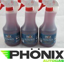 3x Inox 500ml Felgenreiniger Alufelgenreiniger Pumpsprühflasche Felgen Reiniger