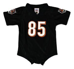 NFL Team Apparel Infant Cincinnati Bengals Chad Johnson Creeper ...