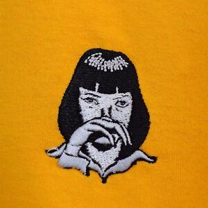 Pulp Fiction x Mia Wallace Cocaine Tarantino White Tee T-shirt by Actual Fact