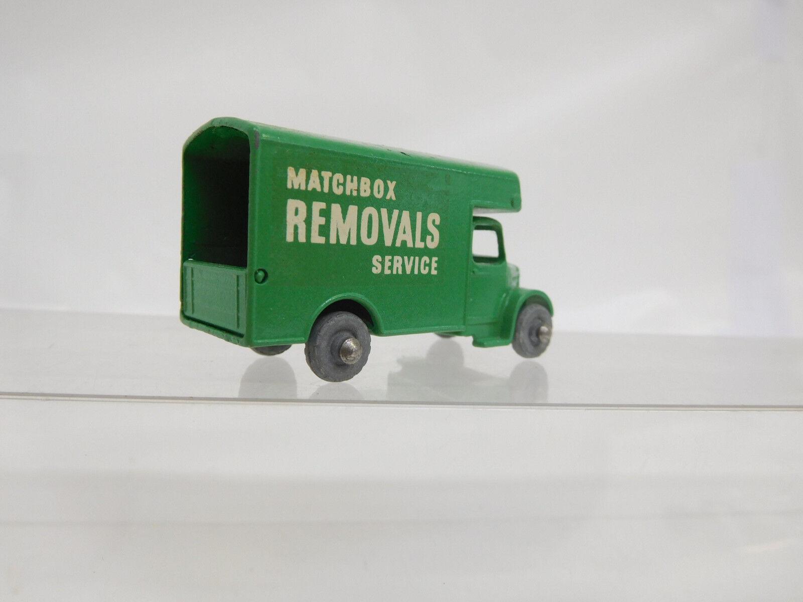 Mes-51182 LESNEY MATCHBOX Removals Removals MATCHBOX service très bon état 006299
