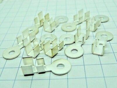 cavo 50mmq. n.2 pezzi Capicorda terminale ottone cadmiato foro mm.9 #