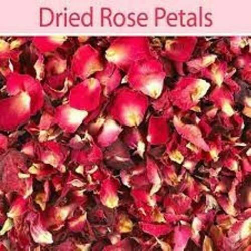 ROSE PETALS ORGANIC PURE EDIBLE SUN DRIED GULAB F//Shipping