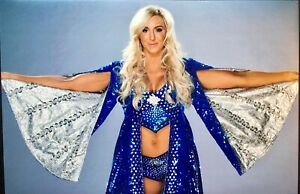 Charlotte Flair 8x10 Photo Espn Body Issue Nude WWE NXT