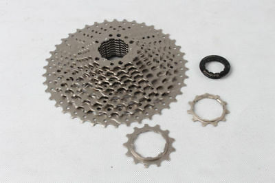 Cycling Bicycle Components & Parts Cooperative Sunshine 11s Mtb Mountain Bike Bicycle 11 Speed 11-42t Cassettes Cassette Silver Relieving Heat And Thirst.