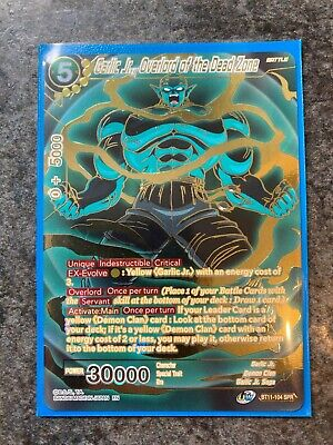 Dragonball Super Dbs Card Garlic Jr Overlord Of The Dead Bt11 104 Spr Mint Ebay Was sealed away 300 years prior by earth's previous guardian, so where showing that he sealed them and hid their container at the bottom of the deepest ocean. ebay