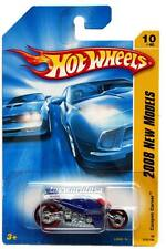 2008 Hot Wheels #10 New Models Canyon Carver blue