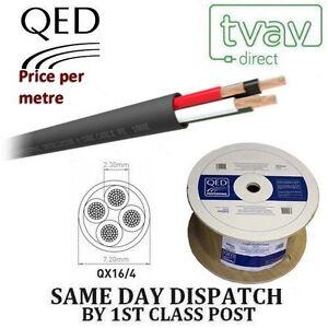 QED-Professional-PE-4-ame-exterieur-Cable-Haut-Parleur-QX-16-4-PRIX-par-metre
