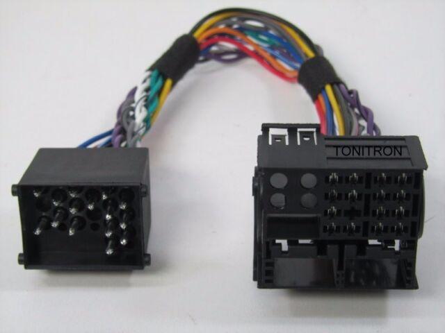 Adapter BMW E46 alt auf neu original Radio Stecker Quadlock Tuner Connector
