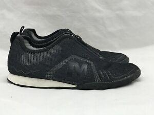wholesale price pre order reliable reputation Details about Merrell Civet Zip Black Shoes Women's Size 6 EUR 36 Mesh  Upper Fashion Sneaker