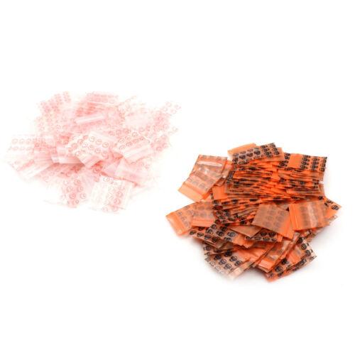 100 sacs clairs 8MIL petit poly BagRecloseable sacs en plastique  VN