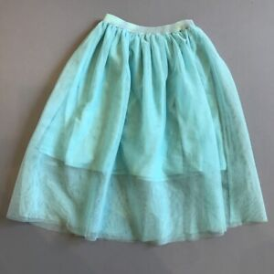 RUBY-amp-BLOOM-NORDSTROM-Girl-039-s-Tulle-Skirt-Sea-Green-EUC-Size-M-8-10-So-Pretty