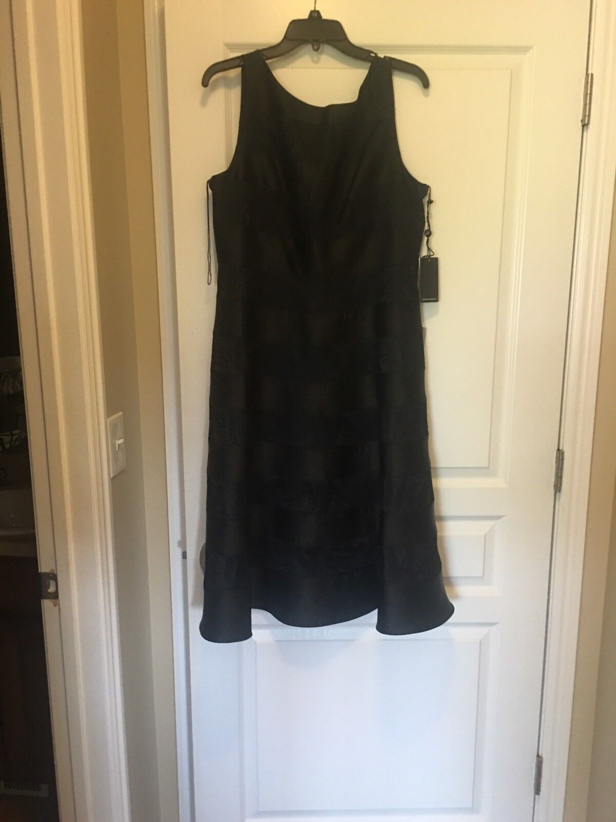 Adrianna Papell Papell Papell Fit & Flare Dress Sz 16 140d44