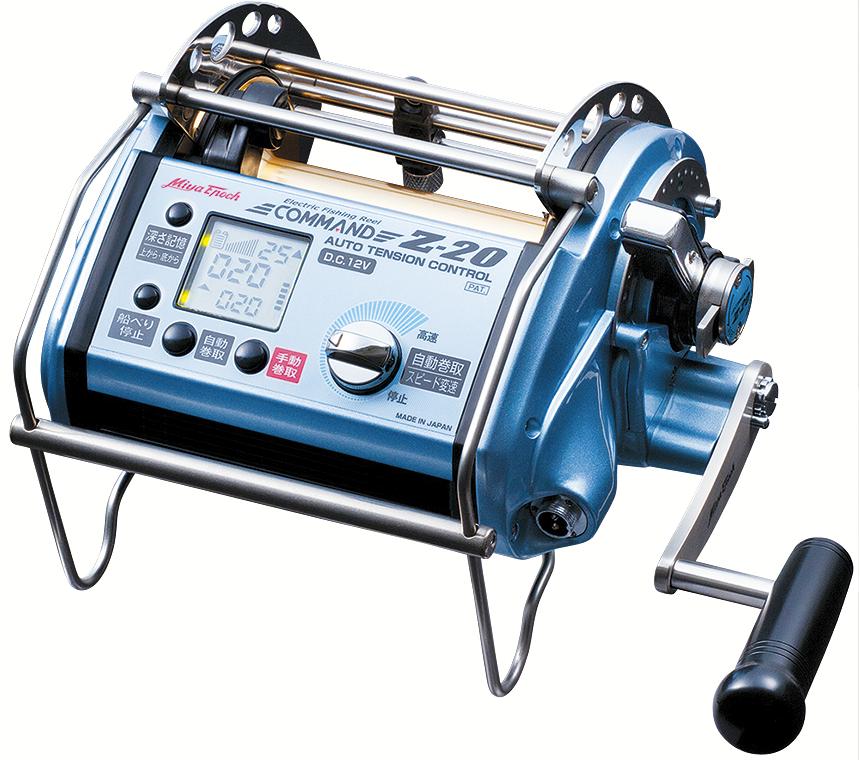 Super Sale Miya Epoch COMMAND CZ-20 Big Game Deep Fishing Electric Reel DC24V