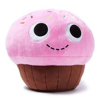 """kidrobot YUMMY WORLD New MD 8"""" SPRINKLES Pink Cupcake PLUSH Toy Collectible"""