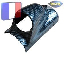 """► Support Vertical Montant Pare-Brise Carbone 1 Manomètre 52 mm 2"""" ◄"""