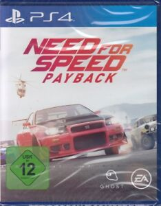 need for speed payback sony playstation 4 ps4 neu ovp deutsche version ebay. Black Bedroom Furniture Sets. Home Design Ideas
