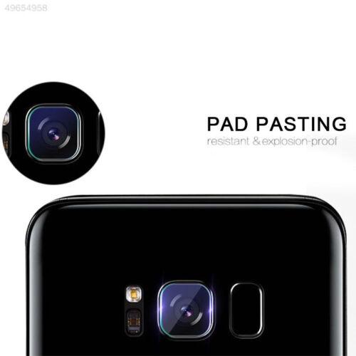Rear Lens Camera For Samsung Galaxy S8 Plus Tempered Glass Film Flashlight