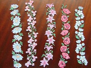 Tattered Lace Die Cuts Charisma FLORAL FRIENDS Flexi Frames Lily 10 colours ass