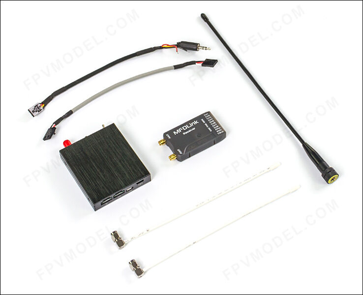 Rlink V2 433 Mhz 16ch Largo Alcance UHF TX y 8ch SBus Rx Combo