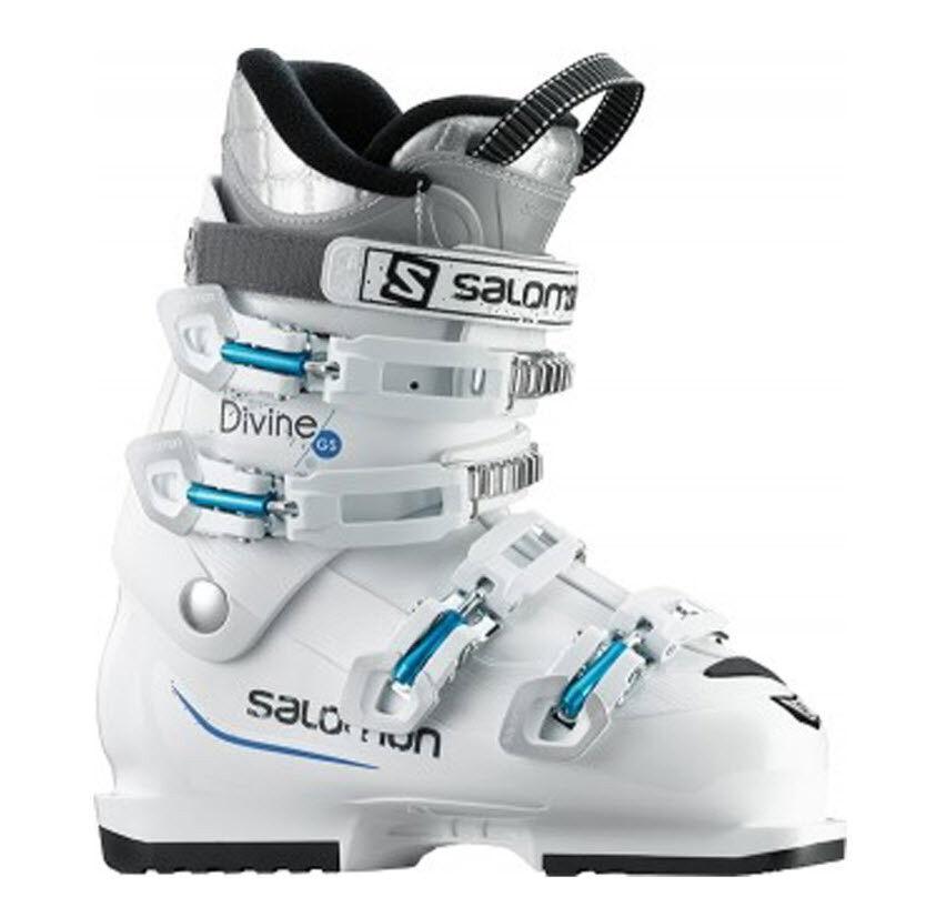Salomon Skischuh DIVINE GS Weiß Weiß Gr. 23 5    Geschäftsaufgabe Neu