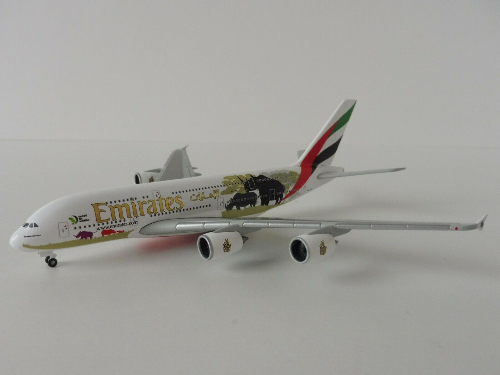 EMIRATES Airbus A380-800 WILDLIFE No.2 1 500 Herpa 532723 532723 532723 A 380 A380 United for 6984cc