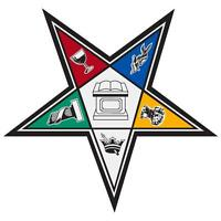 Order Of The Eastern Star Large 4 Reflective Decal Sticker