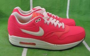 hot sale online 9b72b cdbaa Image is loading Nike-Air-Max-1-premium-Qs-Hyper-Punch-