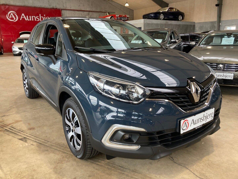 Renault Captur 1,5 dCi 90 Zen EDC 5d - 164.900 kr.