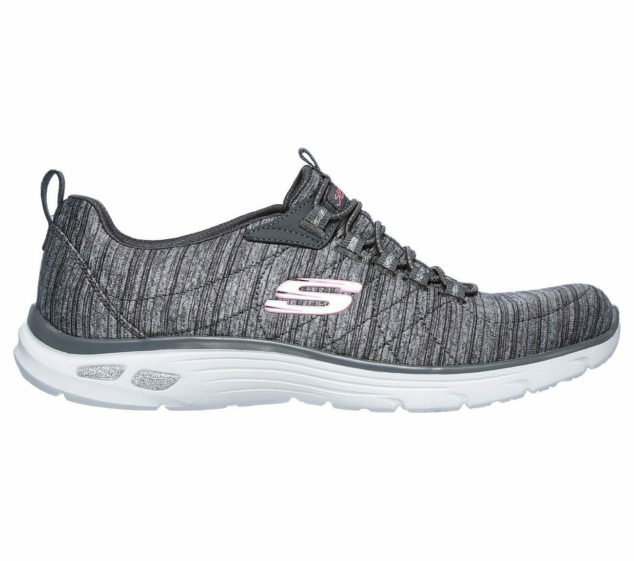 Skechers Relaxed Fit  Empire D'Lux Trainers Sporty Striped schuhe daSie 12820