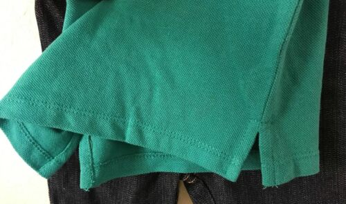 IZOD Toddler Boy 2 Piece Set Green Polo Shirt Denim Pant 12-24 MO NEW
