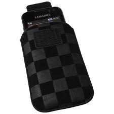 Vertikaltasche Hülle schwarz für HTC Wildfire S Touch