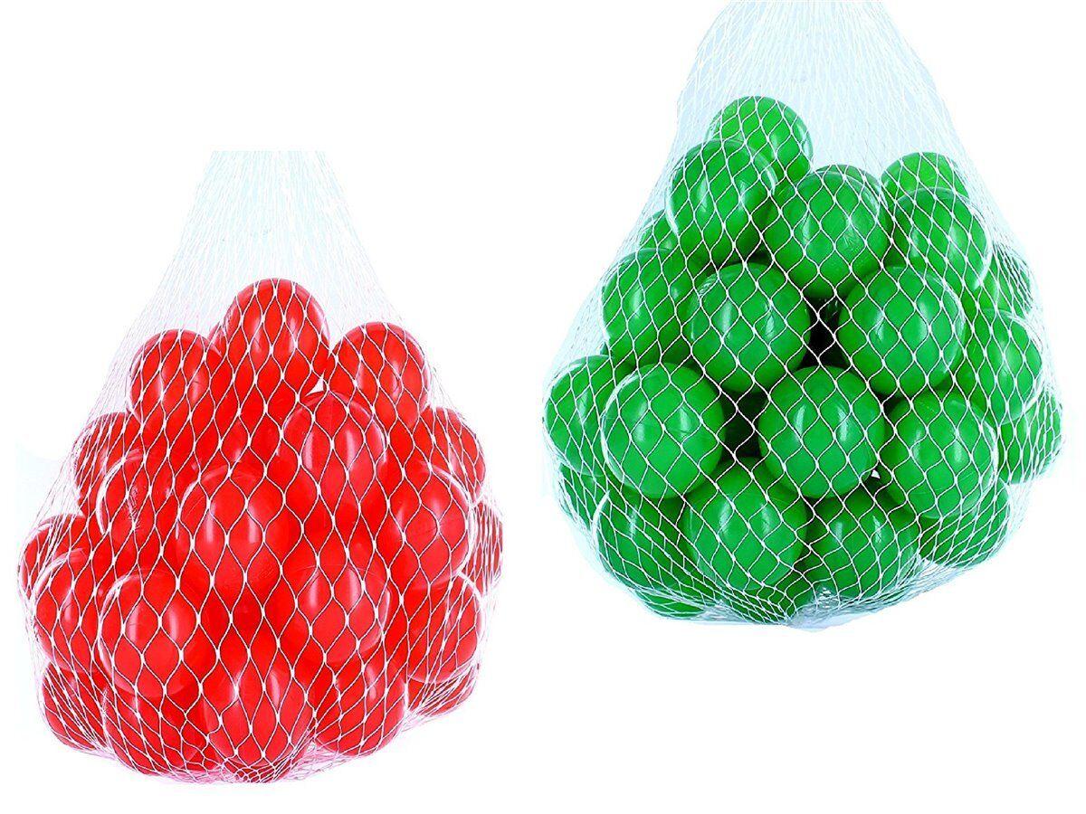 100-10000 Bällebad Bälle 55mm mix grün rot gemischt Farben Baby Kind Spielbälle