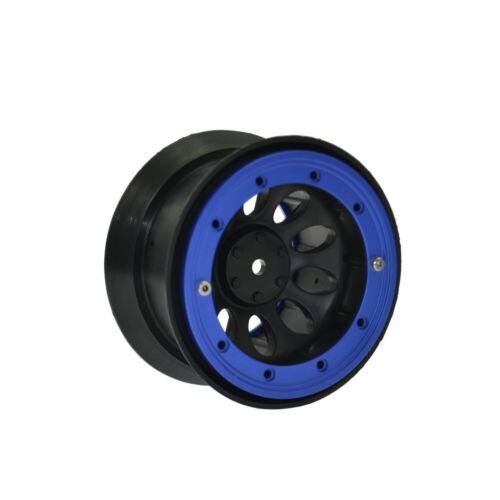 4Pcs RC Crawler 2.2inch Beadlock Wheels for 1//10 RC Rock Axial SCX10 TRAXXAS HSP