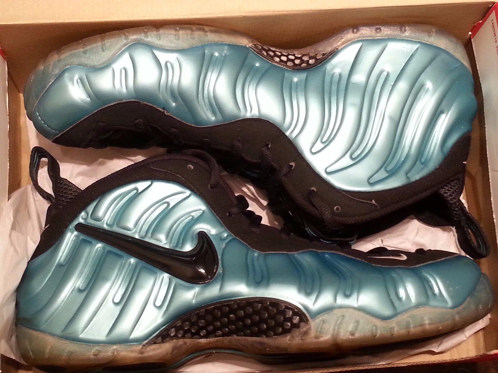 Nike Air Foamposite Electric bluee Size 13. 624041-410 Jordan Penny