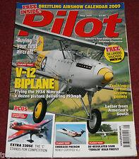 Pilot 2009 May Hawker Nimrod,Embraer Phenom,Extra 330SC,Kolb Firefly