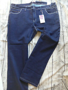 Sheego-Jeans-Trousers-Ladies-Stretch-Size-48-to-58-Blue-Bue-324