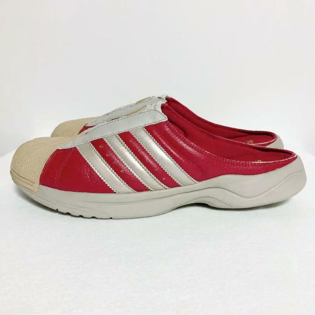 Adidas Superstar Clog Red Sandal US 9.5 2008 USED