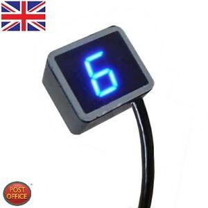 led digital universel indicateur vitesse moto cran levier de capteur cth ebay. Black Bedroom Furniture Sets. Home Design Ideas
