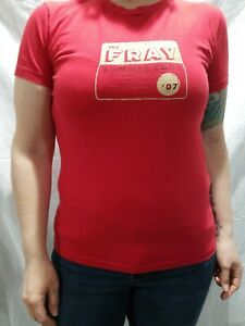 The-Fray-2007-Summer-Tour-Red-Concert-Rock-Band-American-Apparel-Junior-039-s-Large