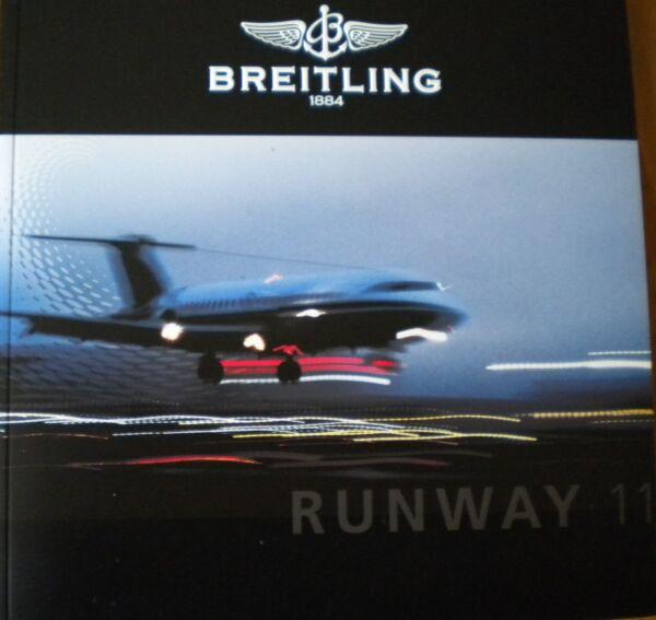 Breitling Katalog Runway 11 Breitling&breitling Neuheiten 2011 Sammlerstück Neu Reich Und PräChtig