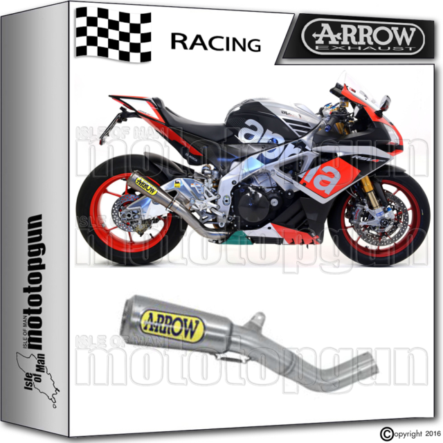ARROW KIT EXHAUST PRO-RACE TITANIUM RACE APRILIA RSV-4 RF 2015 15 2016 16