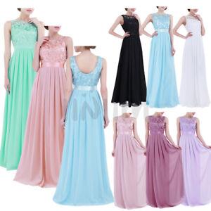 b59d3968e1b3 Chiffon Long Evening Formal Party Prom Ball Gown Bridesmaid Dress ...