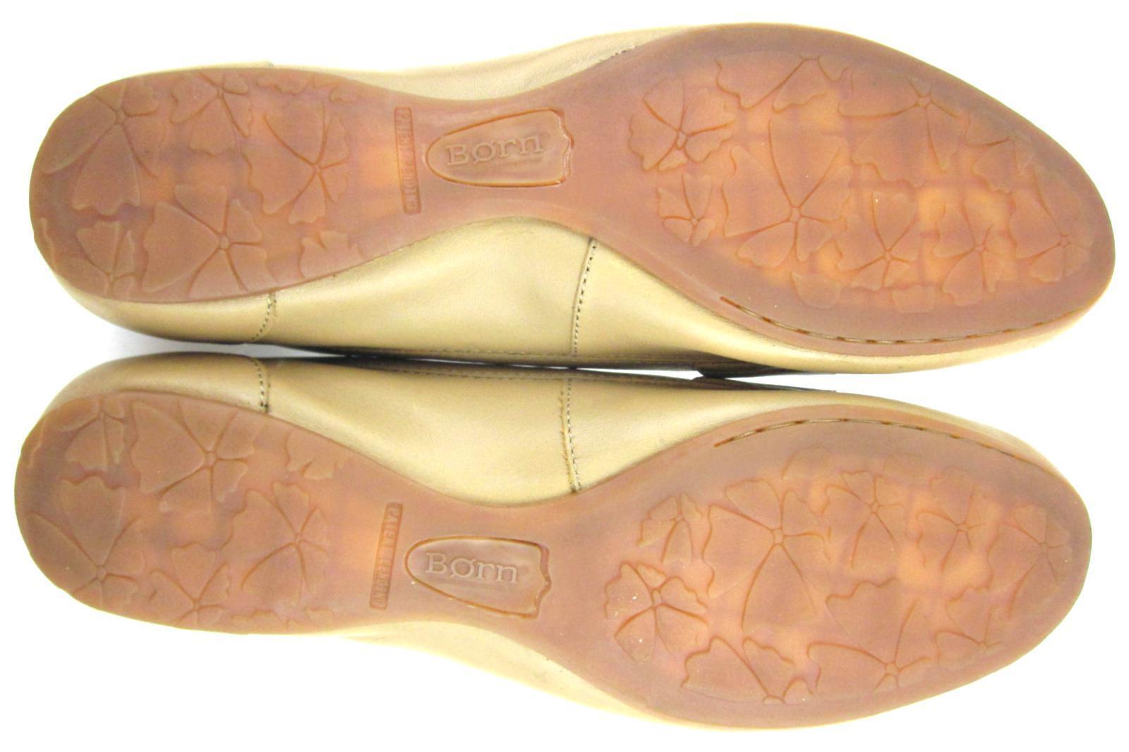 NEW  Born Ballet Tan Flat Style Penny Loafers Tan Ballet Leder Sz US 11 45abac
