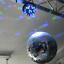 7even-LED-Spiegelkugel-20cm-mit-Batteriemotor-und-Farbwechsel-Spiegelkugelset Indexbild 3