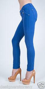 Jeans fit j K Met slim blu Pantaloni In fit vita Pantaloni bassa stretch in Cwq5B5Ivx