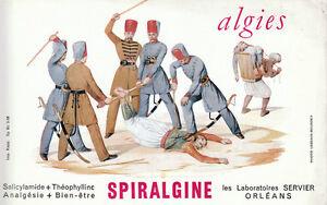 Buvard-Spiralgine-Algies