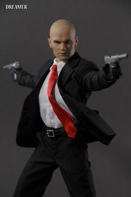 Dreamer 1//6 The Killer 47 Figure Model 12/'/' Male Doll w// Suit Set/& Head Model