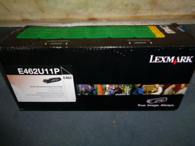 Genuine Lexmark E462U11P Extra High Yield BLACK Toner Cartridge E462 18,000 Page