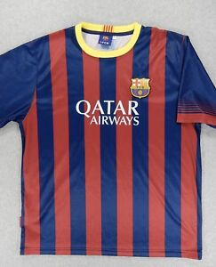 online store 1c0f9 926bc Details about FC Barcelona Replica Soccer Jersey (#10 Messi) Adult Large -  Argentina